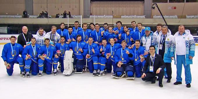 Сборная Казахстана стала победителем Азиады