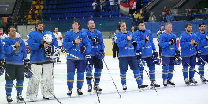 Сборная Казахстана остаётся в первом дивизионе