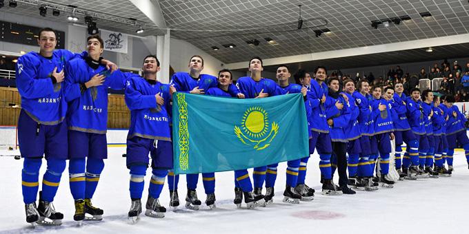Казахстан займёт место Беларуси в элитном дивизионе молодёжного чемпионата мира