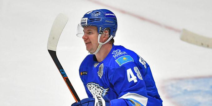 Роман Старченко признан лучшим нападающим прошедшей недели КХЛ
