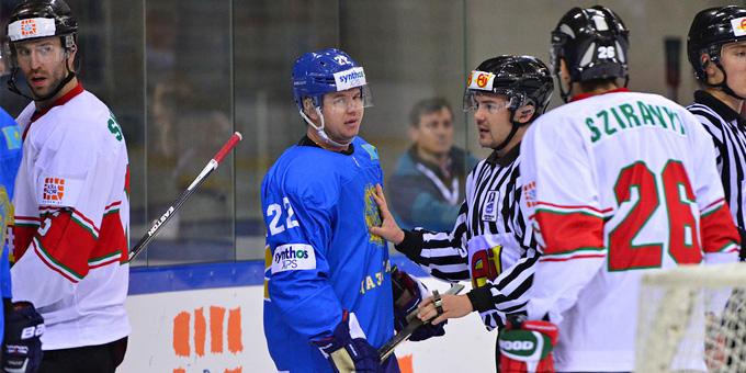 Сборная Казахстана обыграла Венгрию