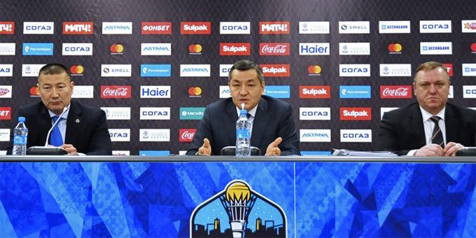 """Аскар Шопобаев: """"Если мы не будем заниматься сборной, то кто это будет делать?"""" Полная версия пресс-конференции руководства """"Барыса"""""""