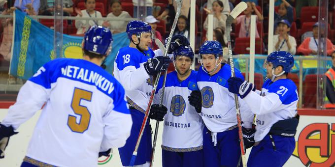 Сборная Казахстана разгромила Великобританию