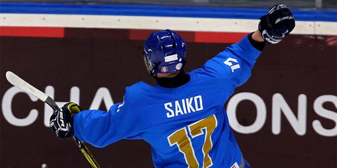 Владислав Сайко выбран на драфте Хоккейной лиги США