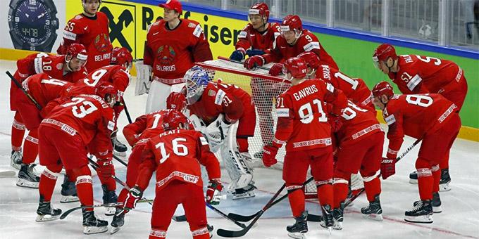 Беларусь вылетела в первый дивизион, где будет играть с Казахстаном