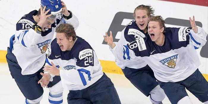 Молодёжный чемпионат мира в Канаде. Наш первый соперник - сборная Финляндии