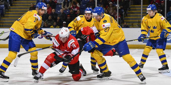 Швеция завершила выступление на молодёжном чемпионате мира раньше Казахстана