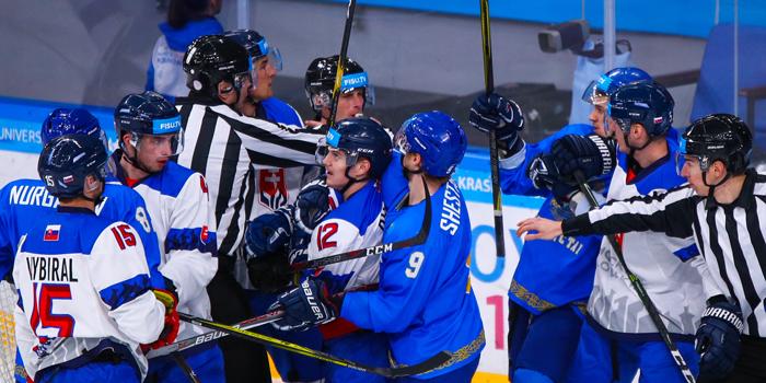 Студенческая сборная Казахстана всухую проиграла Словакии в полуфинале Универсиады