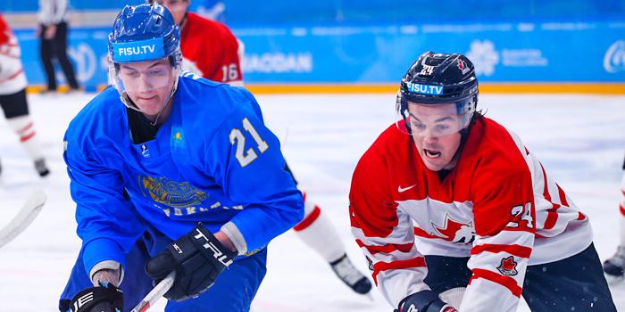 Казахстан сыграет с Канадой в матче за бронзовые медали Универсиады