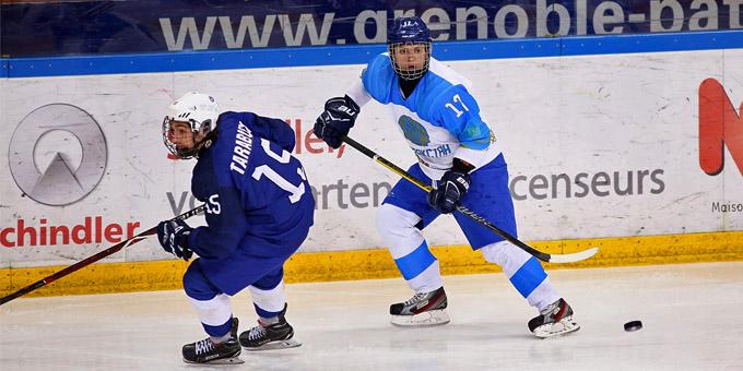 Юниорская сборная Казахстана разгромила Францию