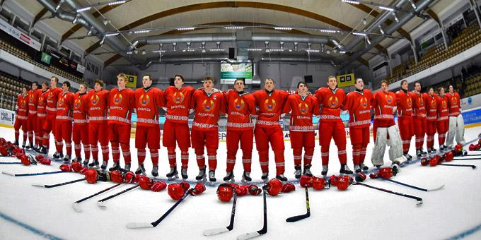 Беларусь обыграла двух грандов на юниорском чемпионате мира