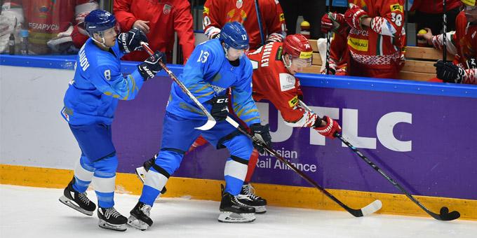 Сборная Казахстана по буллитам проиграла Беларуси