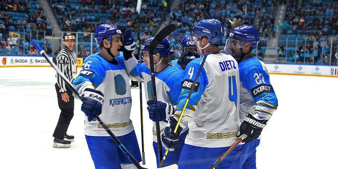 Сборная Казахстана одержала победу над Словенией