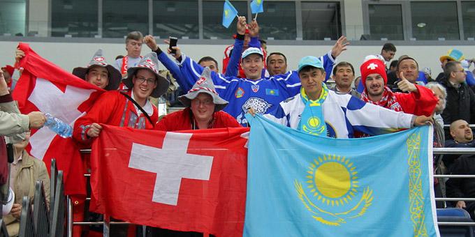 Сборная Казахстана сыграет в Цюрихе