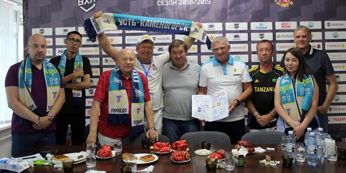 """Руководство """"Торпедо"""" организовало празднование Дня спортивного журналиста"""