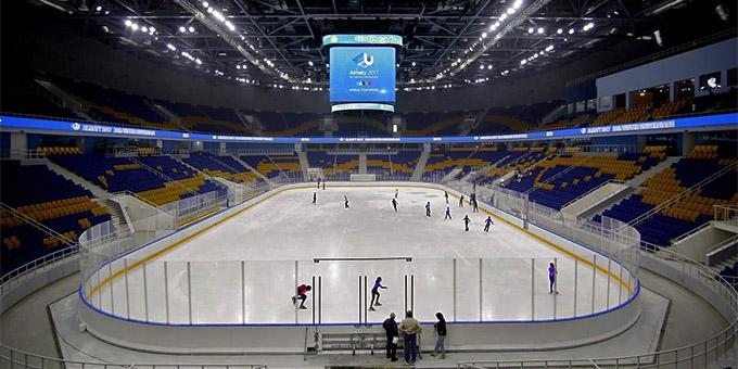 Алматы станет 46-м городом, принимавшим матч КХЛ