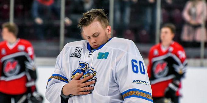Денис Каратаев оформил первый шатаут в ВХЛ