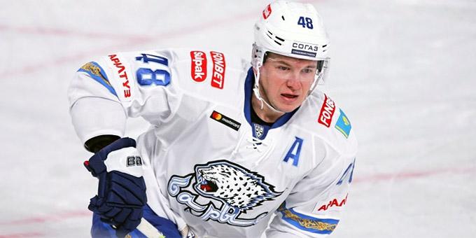 Роман Старченко признан лучшим нападающим недели КХЛ