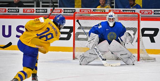 Молодёжная сборная Казахстана проиграла Швеции