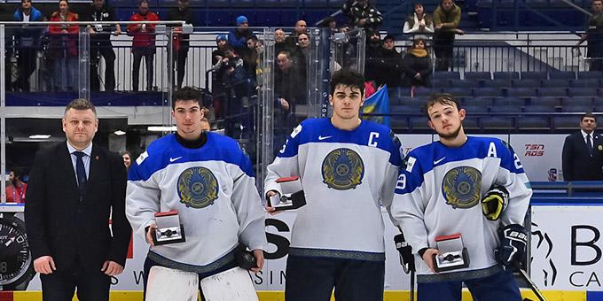 Названы лучшие игроки молодёжной сборной Казахстана