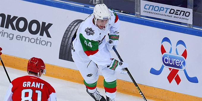 Даррен Диц назначен капитаном на Матч звёзд КХЛ