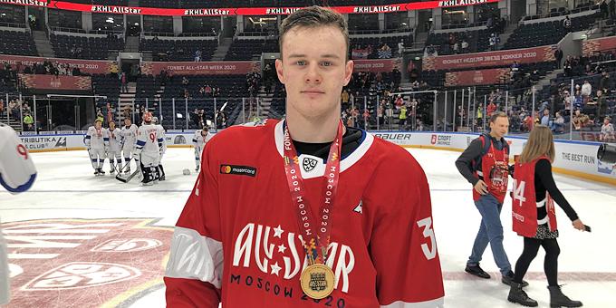 Герман Шапорев помог дивизиону Боброва выиграть Матч звёзд КХЛ