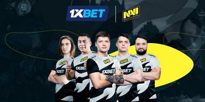 1XBET стала титульным партнером киберспортивной организации Natus Vincere