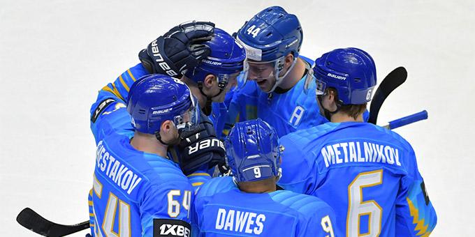 Сборная Казахстана одержала уверенную победу над Украиной