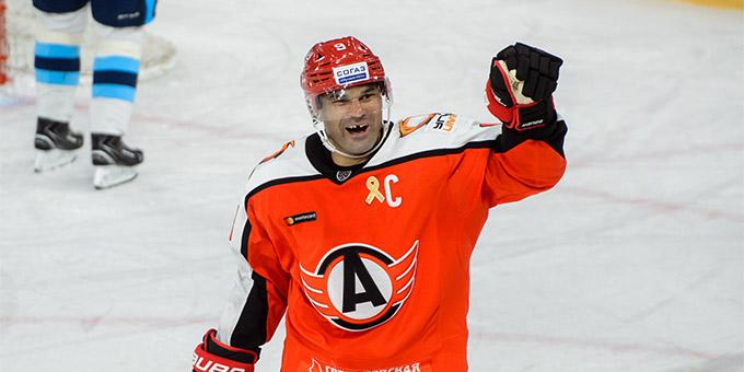 Найджел Доус стал пятым бомбардиром регулярного чемпионата КХЛ