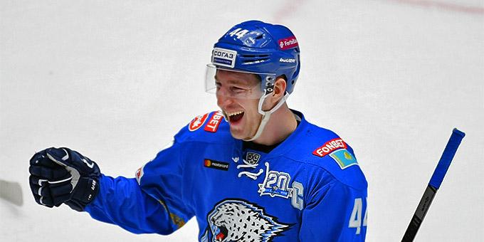 Даррен Диц вошёл в число лидеров КХЛ по нескольким показателям