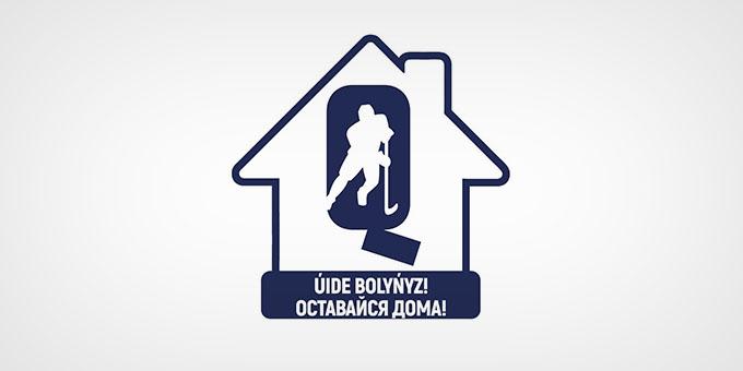 КФХ изменила логотип с призывом оставаться дома