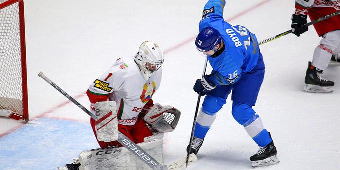 Сборная Казахстана сыграет на международном турнире в Минске