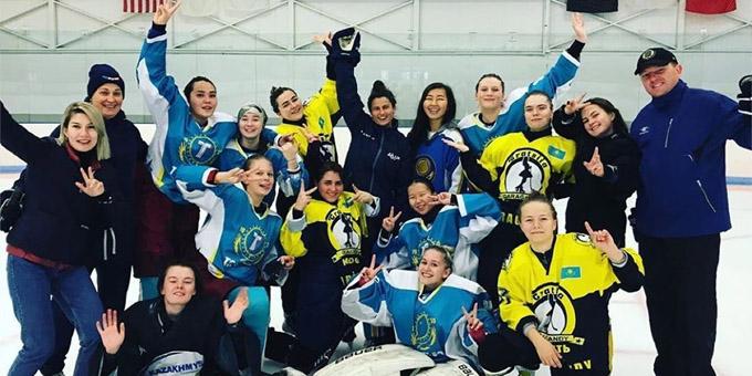 Казахстанская хоккеистка стала главным тренером в США