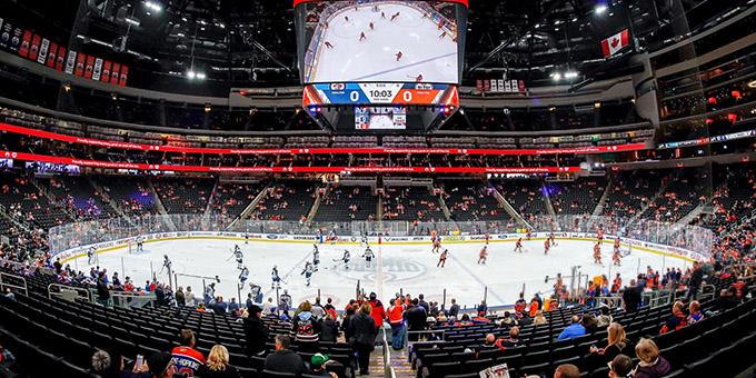 Национальная хоккейная лига планирует проводить по шесть матчей в день