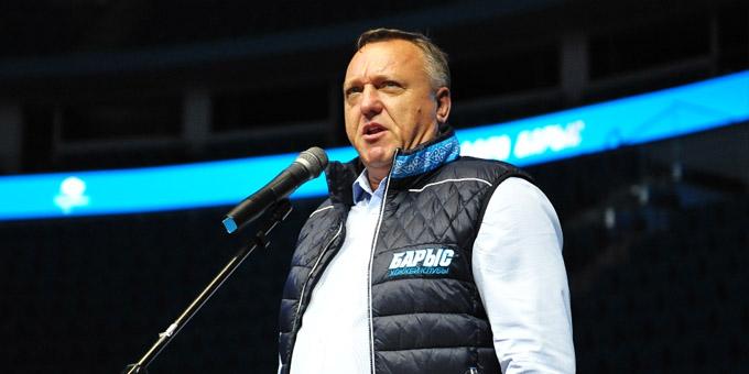 """Борис Иванищев: """"Бюджет клуба сокращён на 15 процентов - тяжёлое положение, но продолжаем работать"""""""