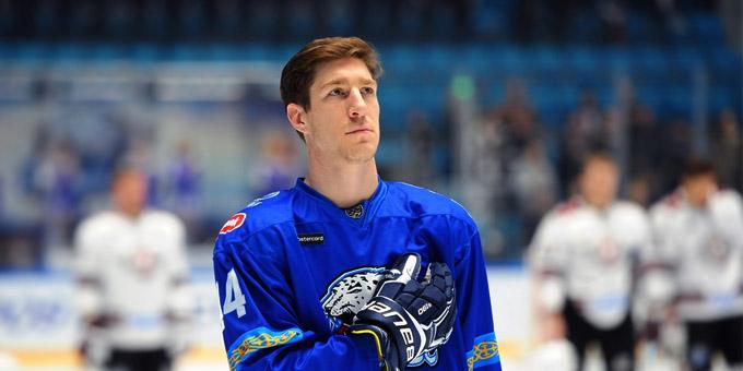 Даррен Диц снова признан лучшим хоккеистом Казахстана
