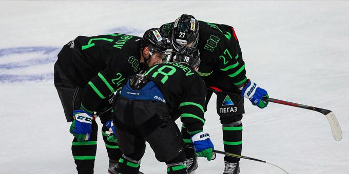 """Десять игроков """"Салавата Юлаева"""" вернулись в строй перед игрой с """"Барысом"""""""