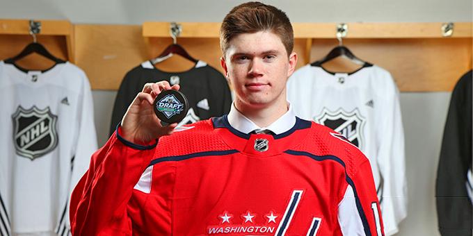 """Том Уилсон не сыграет с """"Баффало"""". """"Вашингтон"""" вызвал молодого канадца, который дебютирует в НХЛ"""
