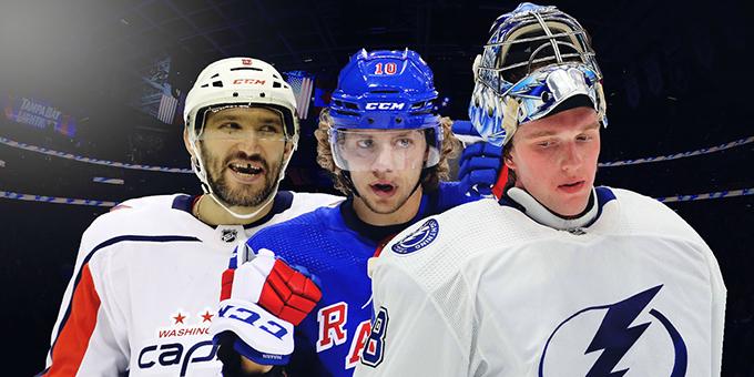 Трое россиян попали в список богатейших хоккеистов НХЛ