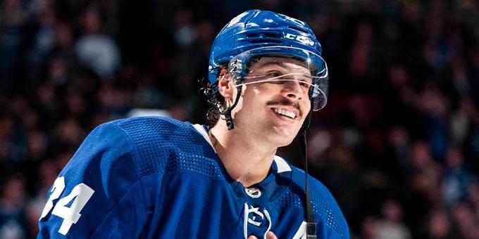 Мэттьюз, Макдэвид и Пастрняк. НХЛ назвала главных звезд недели
