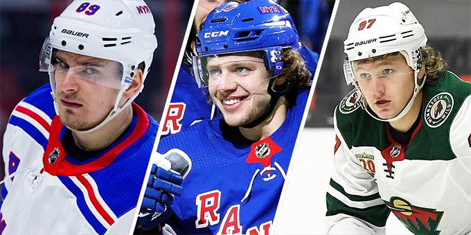 ТОП-5 россиян в НХЛ прямо сейчас