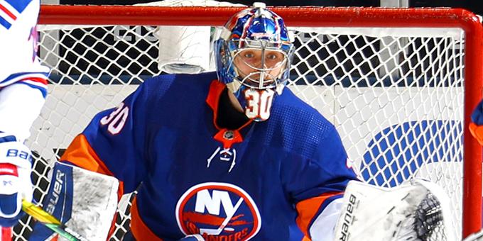 Илья Сорокин вошёл в историю НХЛ