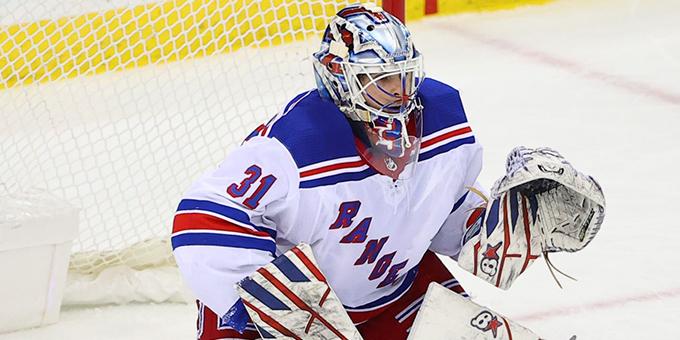 Игорь Шестеркин оформил первый шатаут в НХЛ