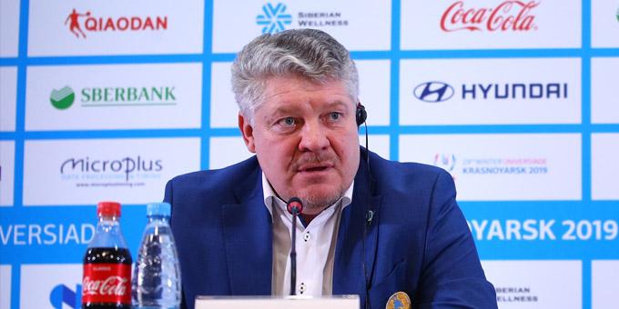 """Юрий Михайлис: """"Ребята настроены очень серьёзно и готовы сражаться за честь страны"""""""