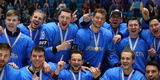 Сборная Казахстана сохранила прописку в элитном дивизионе чемпионата мира