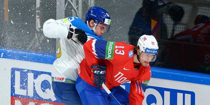 Сборная Казахстана проиграла Норвегии