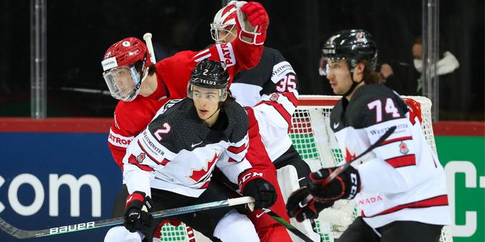 Канада в овертайме обыграла Россию и вышла в полуфинал чемпионата мира