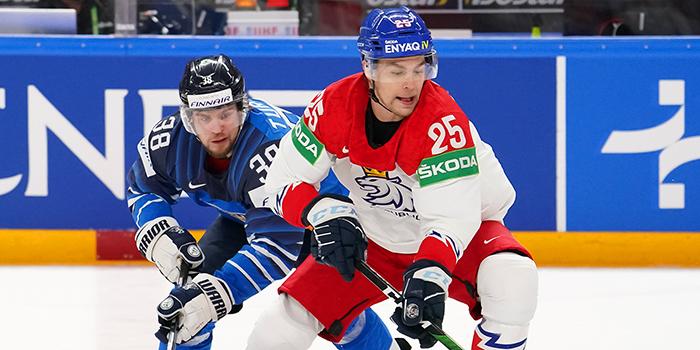 Финляндия победила Чехию и вышла в полуфинал чемпионата мира