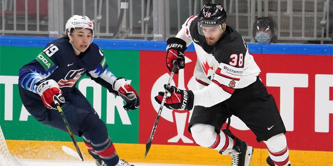 Канада одержала победу над США и вышла в финал чемпионата мира