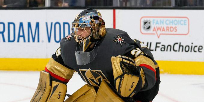 Марк-Андре Флёри вышел на четвёртое место в НХЛ по количеству побед в плей-офф